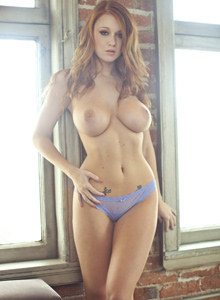 Ruby red Leanna Decker