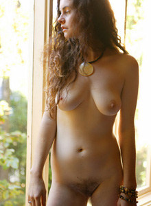 Hairy Kathy in her room