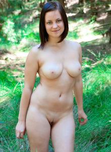 Sexy boobed Delia