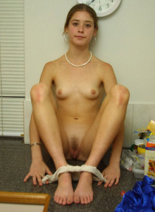 Young playful hairy pussy Beth
