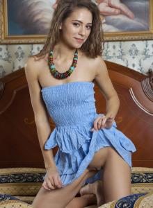 Playful nude angel Olina