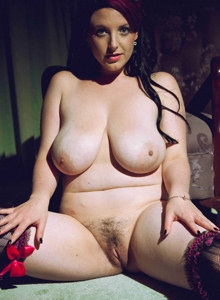 Dream big boobs Angie in sexy lingerie has hairy vagina