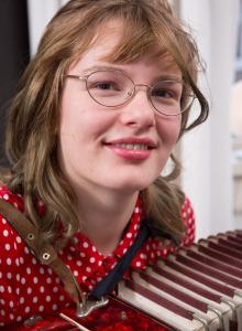 Unshaven Yara with puffy nipples